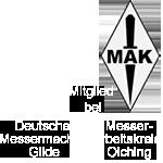 Mitglied Messerarbeitskreis Olching,Messermachergilde Deutschland